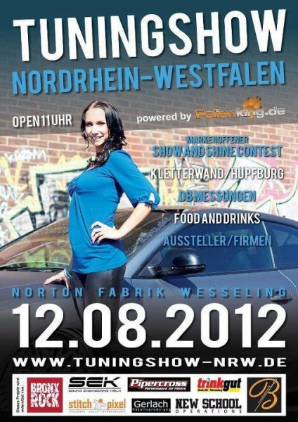 Tuningshow NRW Flyer