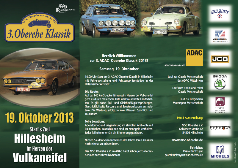 Oberehe Classic Flyer 2013