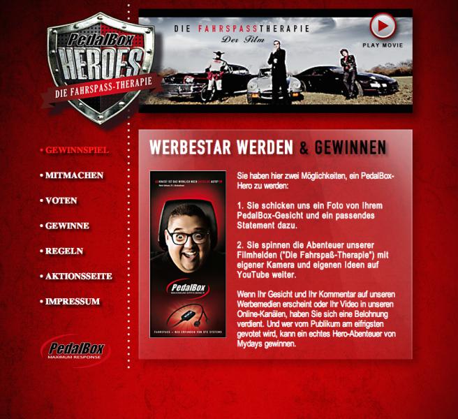 Pedalbox Heros App