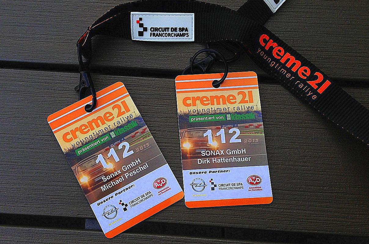 Creme21 2013 Youngtimer Rallye