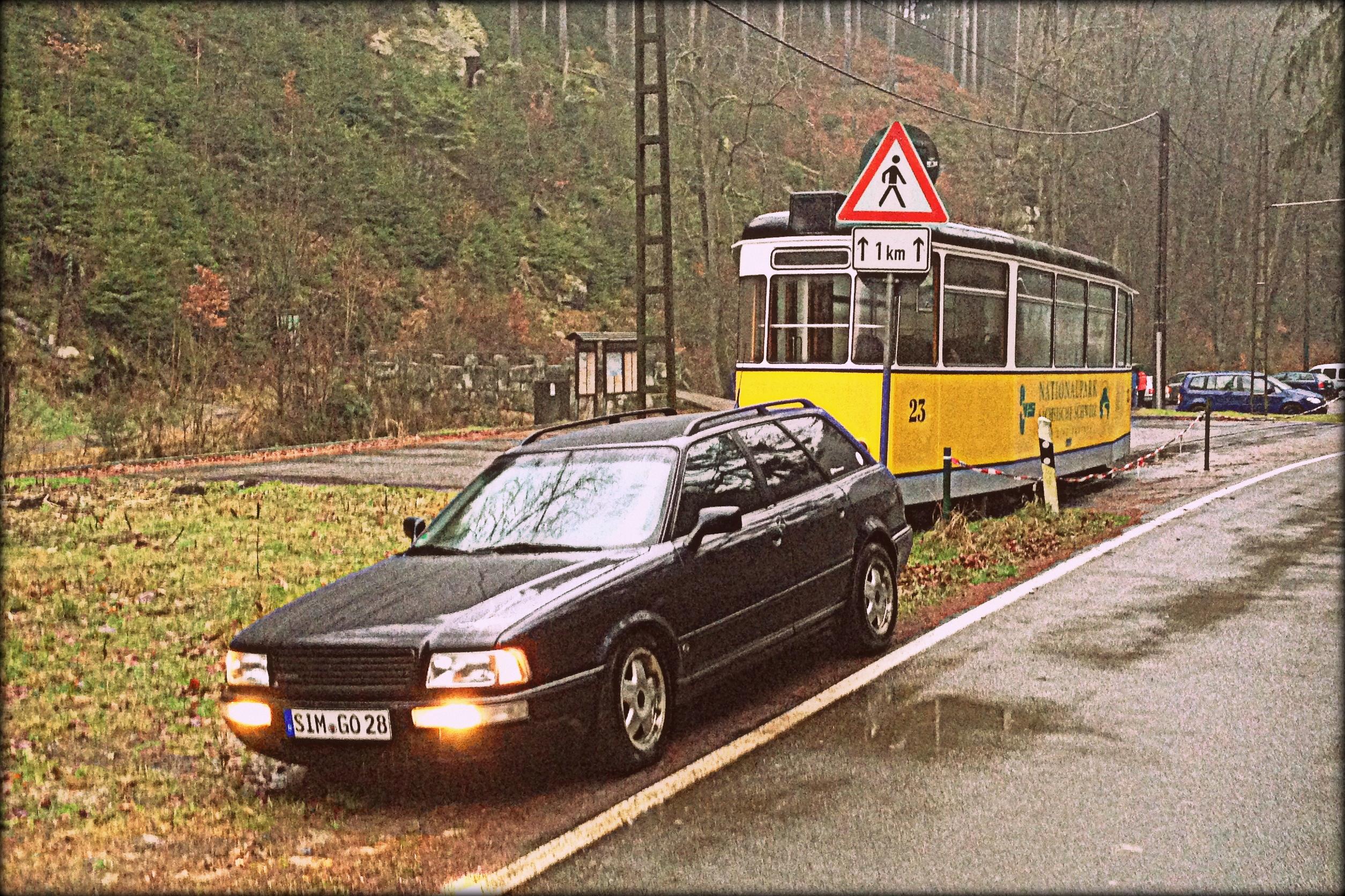Audi 80 Avant quattro Sachsen