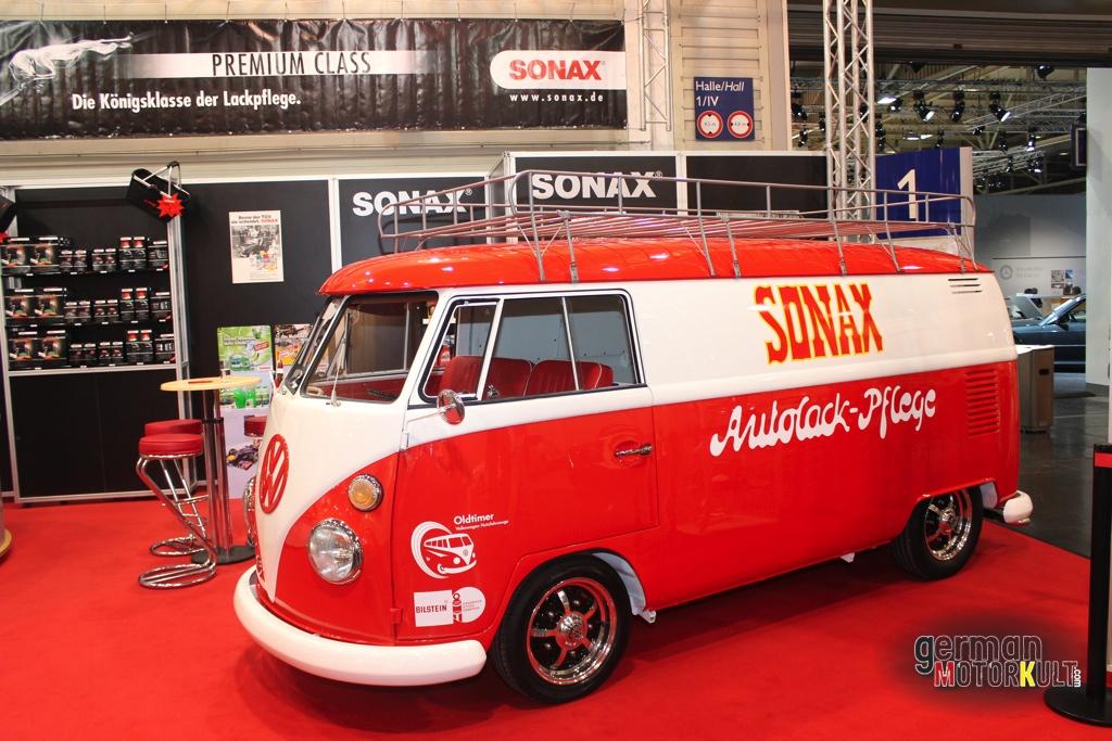 VW T1 Bulli Techno Classica Essen Sonax 2014