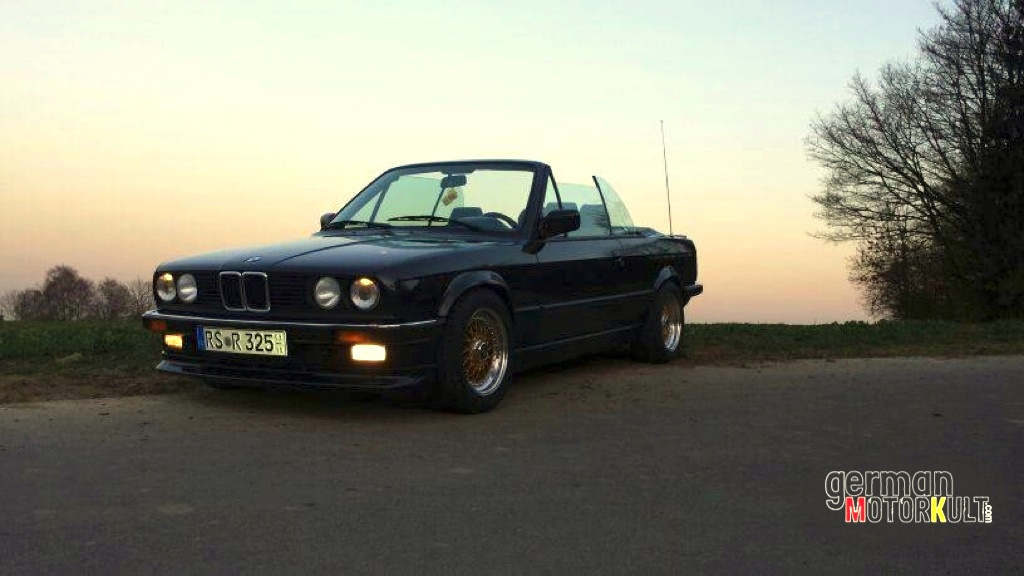 BMW 325i Cabrio Open Air