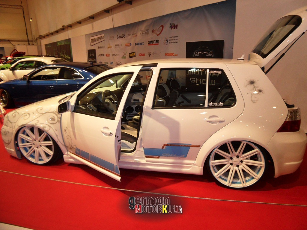VW Golf Edelweiss AT-RS Ricarda Bongartz - 1