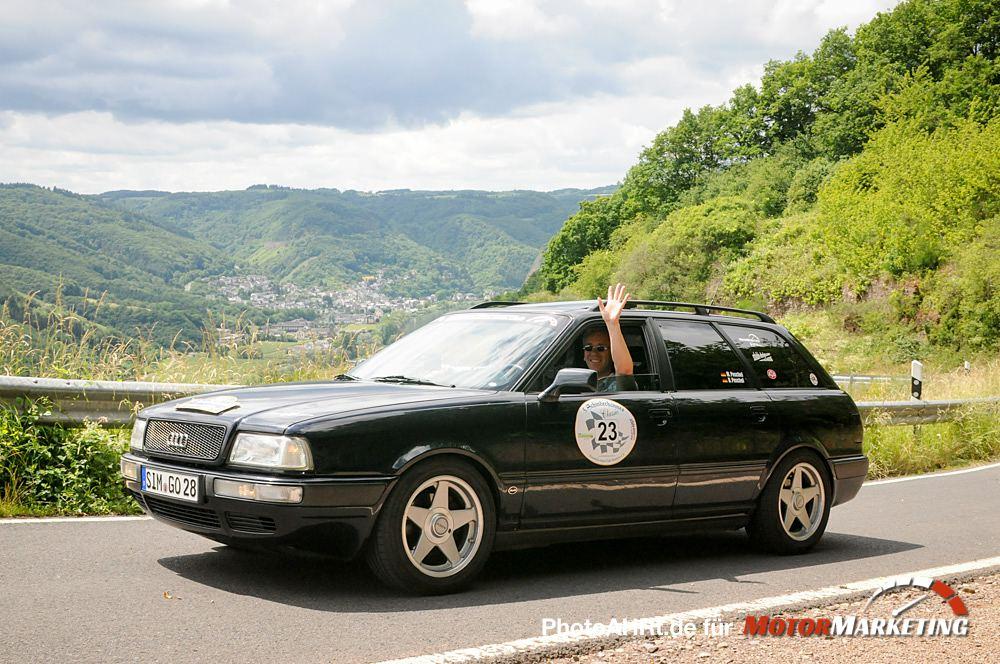 13.06.2015 - Oldtimer - 5. Schinderhannes Classic - #23 Audi 80 Avant quattro Bj. 1993 - Foto: PhotoAHRt
