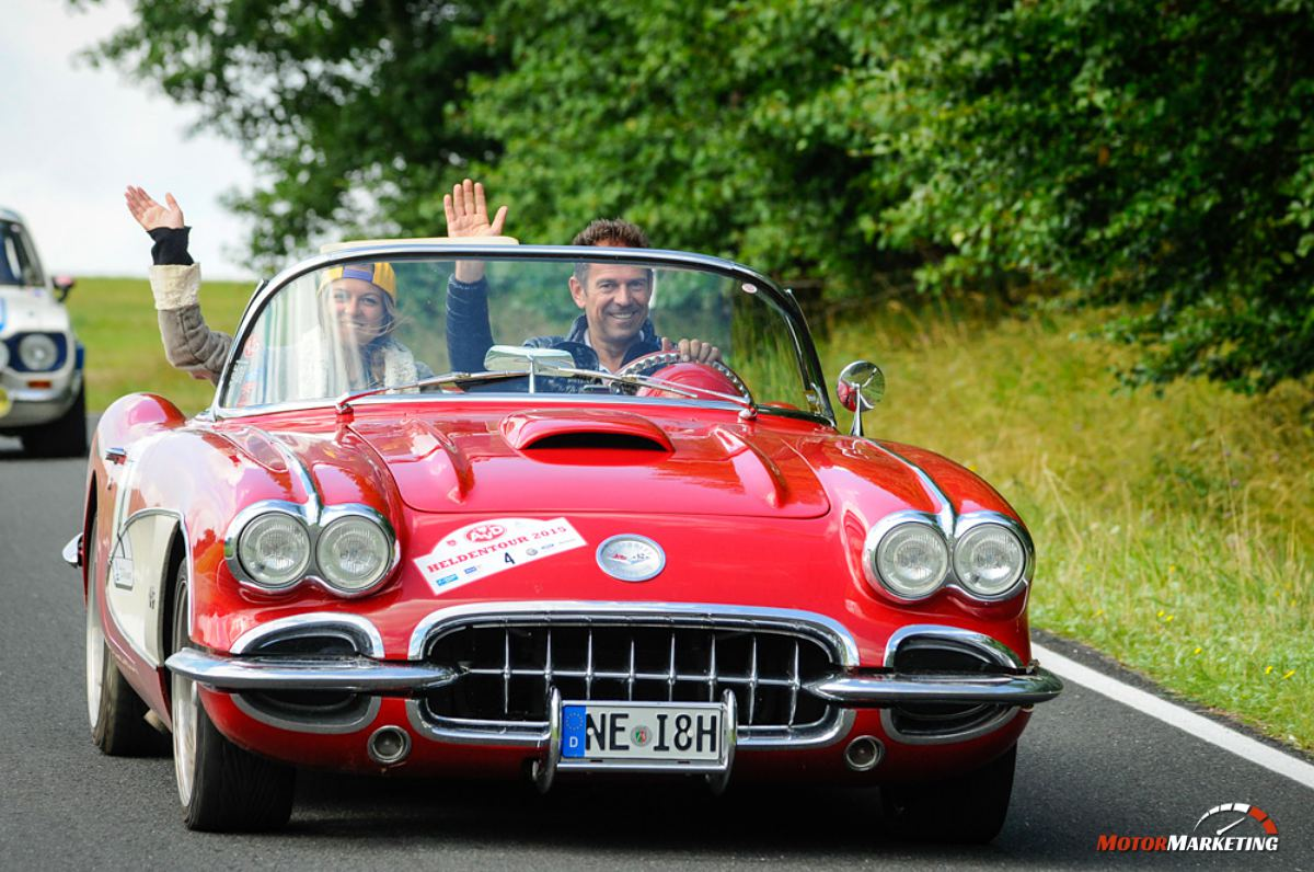 31.07.2015 - Oldtimer - AvD Heldentour 2015 - #4 Corvette C1 Bj. 1960 - Foto: PhotoAHRt