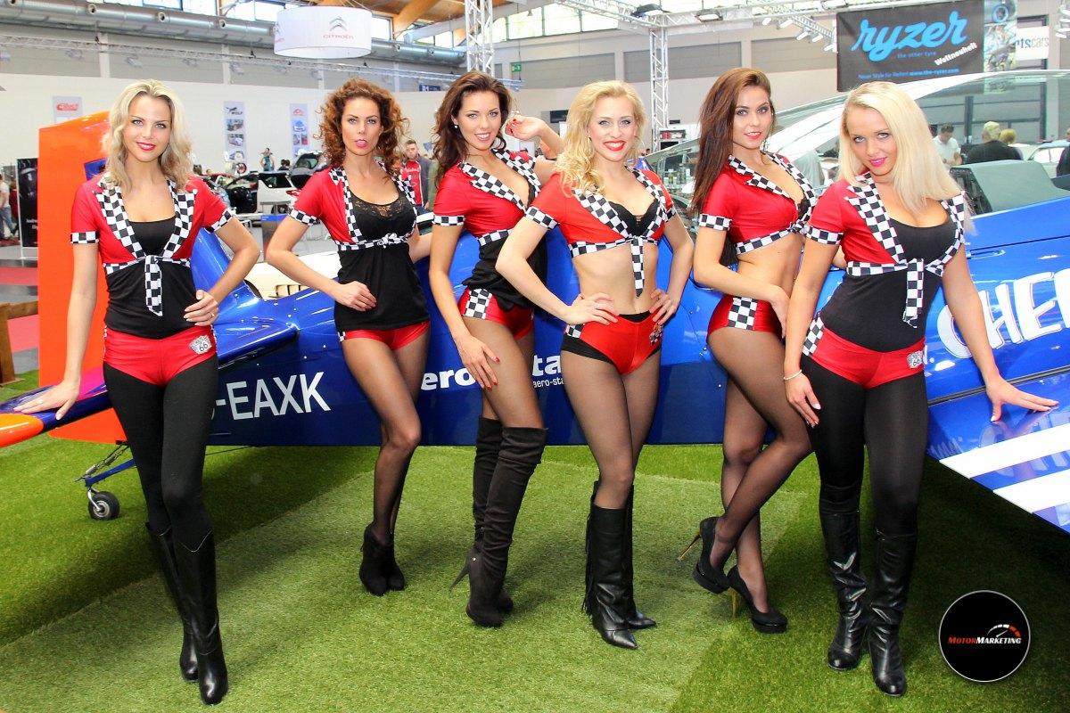 Die schönen Ladys der TuningWorld - Bodensee Girls 2016