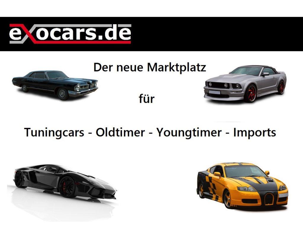 Exocars - Der Automarktplatz für Exoten