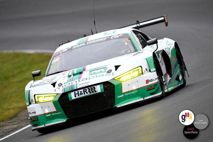 Dries Vanthoor / Markus Winkelhock im Audi R8 LMS