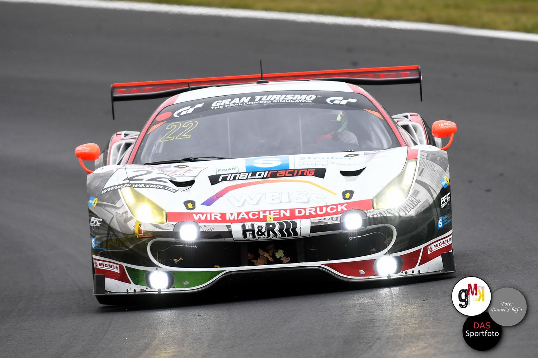 Georg Weiss / Oliver Kainz / Jochen Krumbach im Ferrari 488 GT3