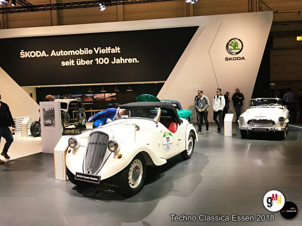 Skoda Techno Classica 2018 in Essen