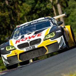 Nicky Catsburg und Stef Dusseldorp gewinnen im BMW M6 GT3 von ROWE RACING. (Foto: Daniel Schäfer / DAS Sportfoto)